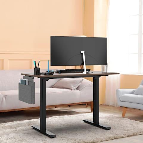 TiramisuBest Height Adjustable Electric Standing Desk 48x24 inch