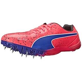 Puma Mens Evospeed Electric Track Lace Up Running Shoes - 13 medium (d)