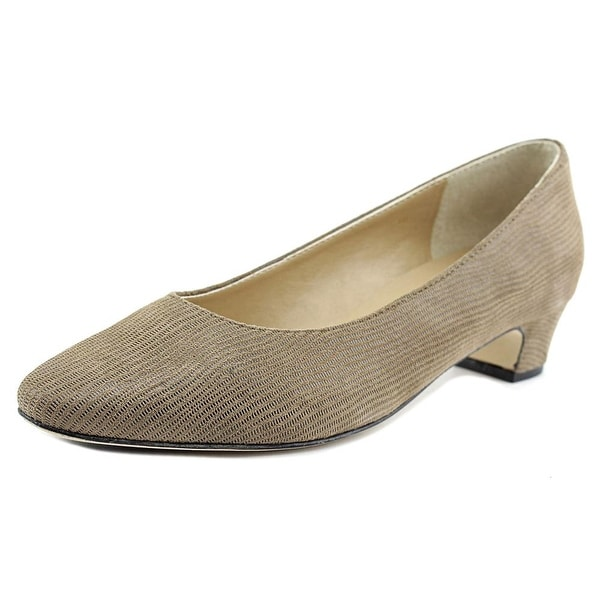 Vaneli Astyr Women Taupe/Lizard Pumps