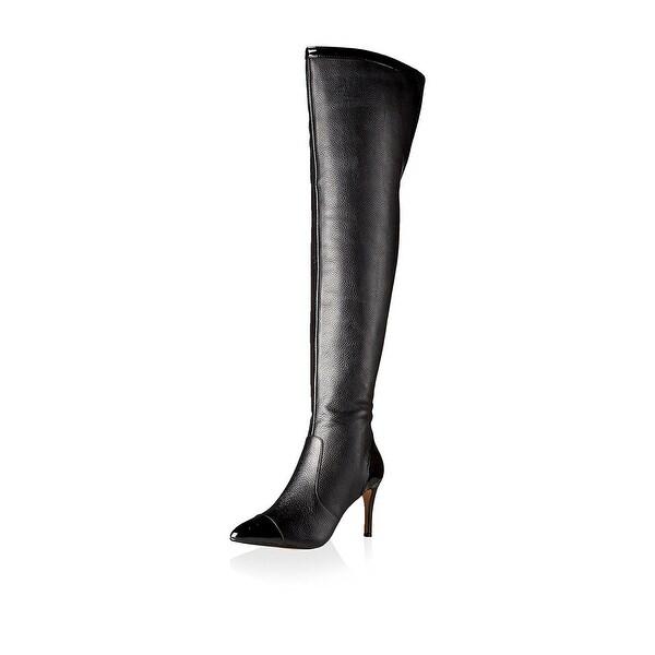 Nina Originals Womens ALLURE Cap Toe Over Knee Fashion Boots