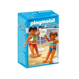 Two Volleyball Players with Net by Playmobil