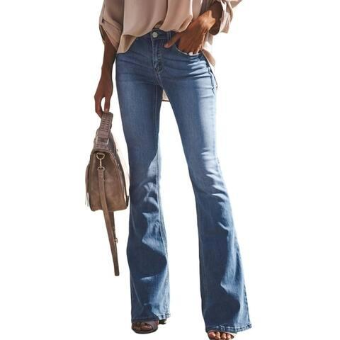 Women's Fashion Flare Jeans