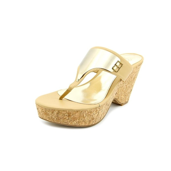 Fergie Isis Women Open Toe Synthetic Nude Sandals