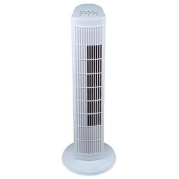 Pelonis FZ10-9HB Oscillating Tower Fan, White, 3 Speeds