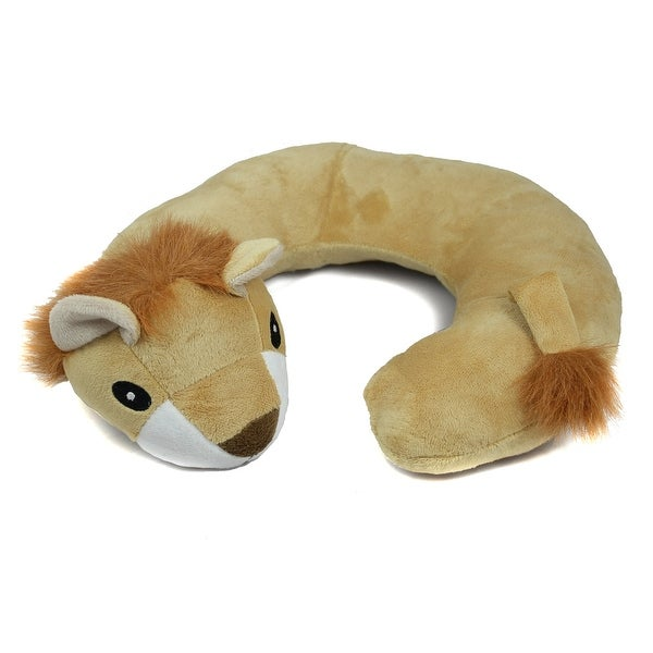 Animal Travel Pillow : Northpoint Animal Travel Neck Pillow Lion - Free Shipping On Orders Over $45 - Overstock.com ...