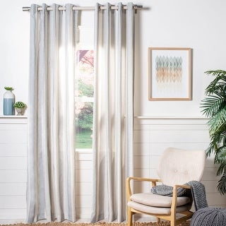Link to Safavieh Rela Semi-Sheer Window Curtain Panel Similar Items in Window Treatments