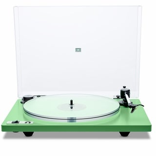 U-Turn Audio Orbit Plus Turntable with Built-In Preamplifier (Option: Green)