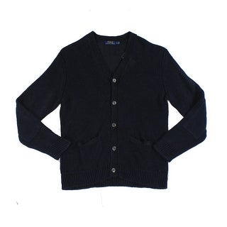 Polo Ralph Lauren NEW Blue Mens Size 2XL Knitted Cardigan Sweater