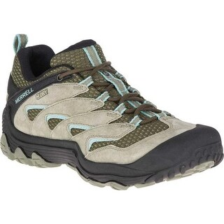 Merrell Women's Chameleon 7 Limit Waterproof Hiking Shoe Dusty Olive Suede/Mesh