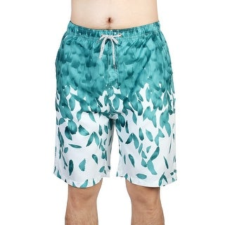 Unique Bargains Adult Men Breathable Half Pants Outdoor Beach Shorts Adjustable Swim Trunks