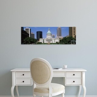 Easy Art Prints Panoramic Images's 'Facade of a courthouse, Old Courthouse, St. Louis, Missouri, USA' Canvas Art