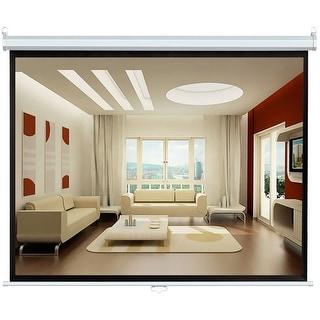 72'' (43''Hx57''W) Manual Self Locking Projector Standard Format (4:3) Screen