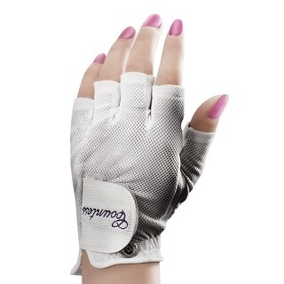 Powerbilt Countess Half-Finger Golf Glove - Ladies LH Medium
