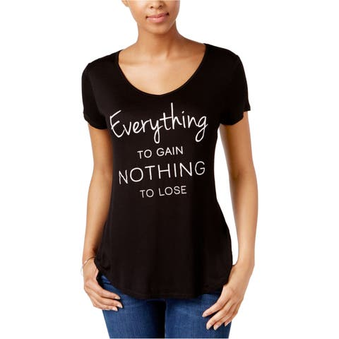 Jamie & Layla Womens Everything To Gain Graphic T-Shirt