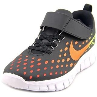 Nike Free Express Youth Round Toe Synthetic Black Running Shoe
