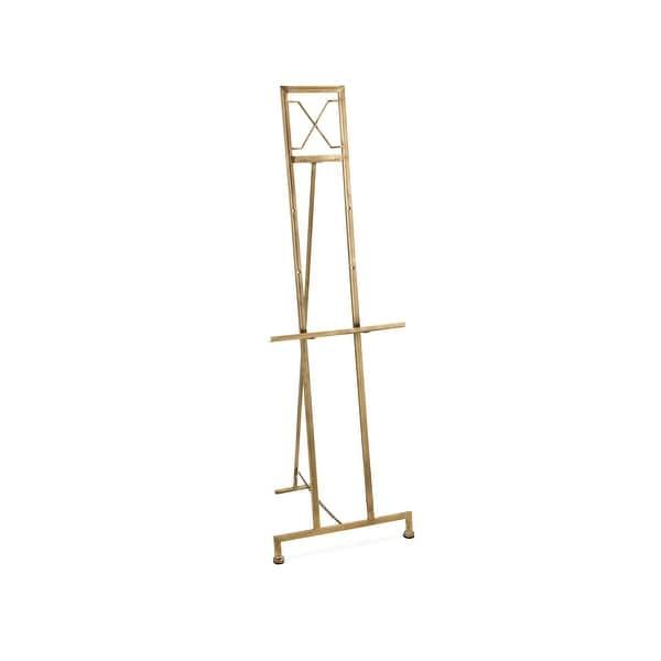 "IMAX Home 17120 Jamye 55"" Tall Iron Easel with Adjustable Height - Bronze"