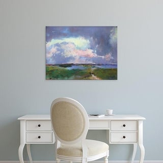 Easy Art Prints Madeline Dukes's 'Converging Storms' Premium Canvas Art