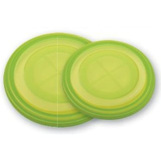 LidLover 5386 Universal Bowl Lid, Set of 2, Green