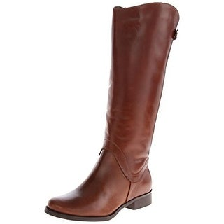 Steven By Steve Madden Womens Sady Riding Boots Wide Calf Leather