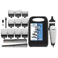 Wahl 17-piece The Styler Haircutting Adjustable Clipper Kit White