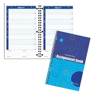 Hammond & Stephens Undated Daily Student Assignment Planner, 7 x 11 inches, 192 Pages