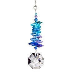 Woodstock Rainbow Makers Collection Crystal Moonlight Cascade with Large Octagon