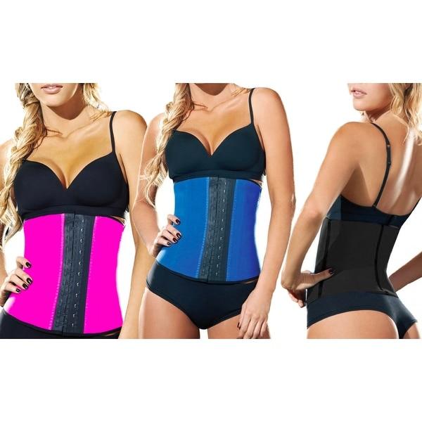 f20ed4e60b Shop Women s Waist Trainer Workout Slimming Corset - On Sale - Free ...