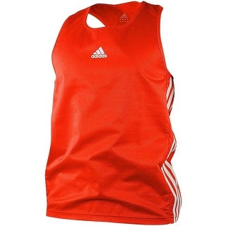 Adidas Amateur Lightweight Tank Top Shirt - Red/White