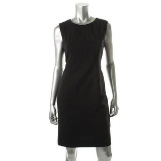 Calvin Klein Womens Lined Sleeveless Wear to Work Dress