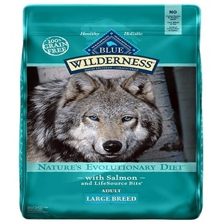 Link to Blue Buffalo Dog Wilderness  Grain-Free  Large Breed  Salmon 24 Lbs. - 24 lbs Similar Items in Dog Food & Treats