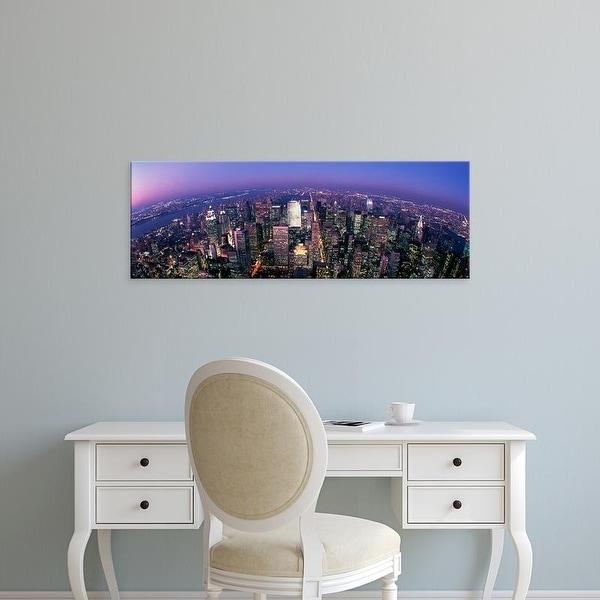 Easy Art Prints Panoramic Image 'Midtown Manhattan, New York, NYC, New York City, New York State, USA' Canvas Art