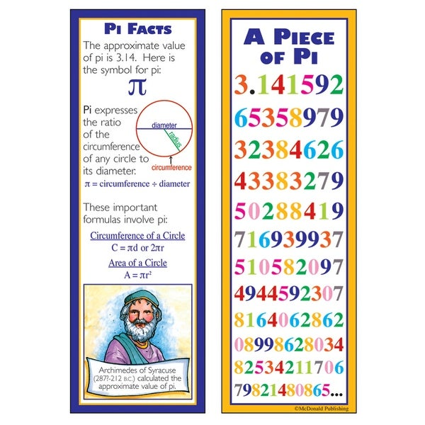 Shop Pi Smart Bookmarks Free Shipping On Orders Over 45