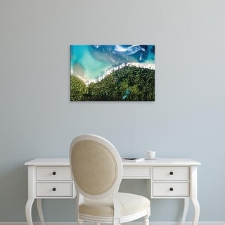 Easy Art Prints 'Beach is Calling' Premium Canvas Art