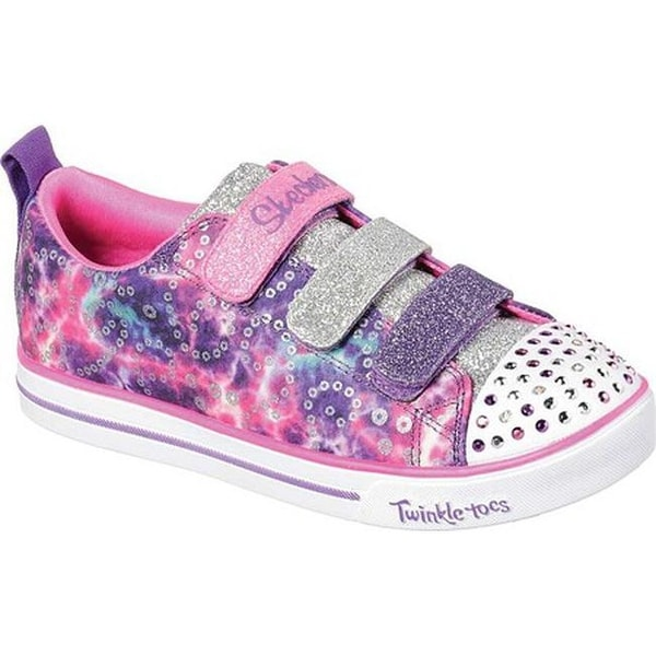 08a71cbad83e Shop Skechers Girls' Twinkle Toes Sparkle Lite Rainbow Brights Sneaker  Purple/Multi - Free Shipping On Orders Over $45 - Overstock - 28054005