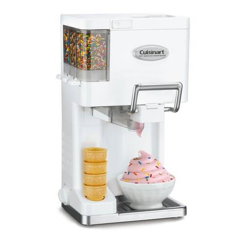 Cuisinart ICE-45P1 Mix It In Soft Serve Ice Cream Maker - 2 Qt.