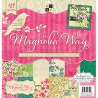 "Magnolia Way; 24 Designs/2 Each - Dcwv Paper Stack 12""X12"" 48/Pkg"