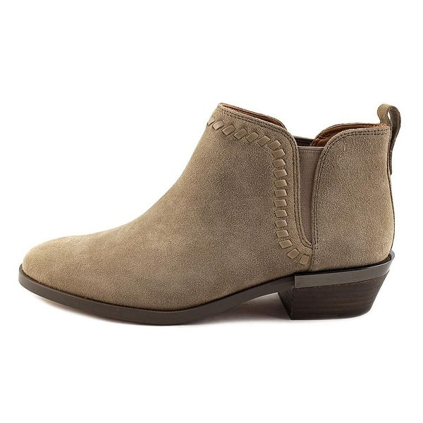 Coach Womens carter suede Almond Toe Ankle Fashion Boots
