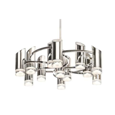 Kuzco Lighting CH9830PN Chandelier Berlin Polished Nickel - Exact Size