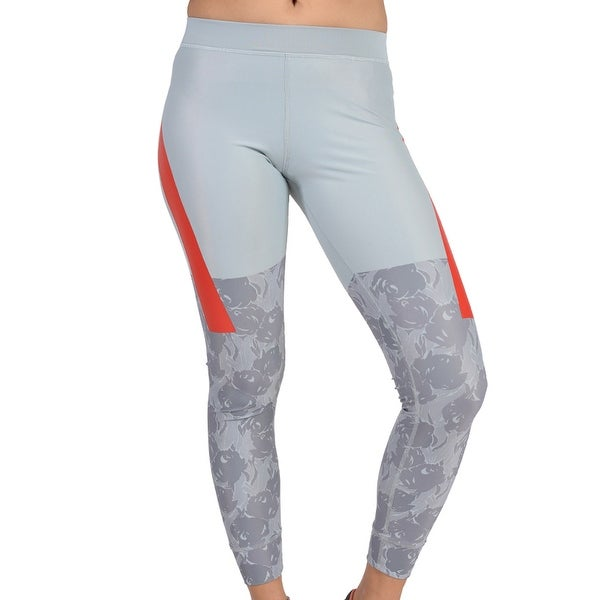 a24f9119eb9f4 Shop Adidas Womens Stell McCartney Techfit Tight Grey - Grey/Red ...