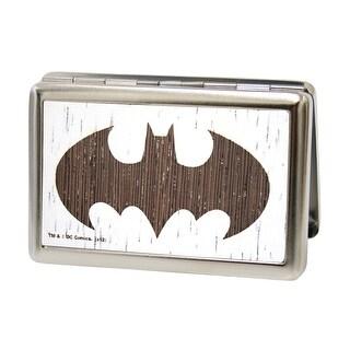 Batman Gw White Business Card Holder