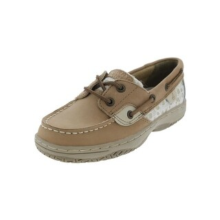 Sperry Girls Bluefish Boat Shoes Girl's Leather