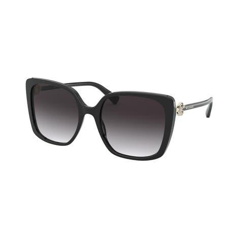 Bvlgari BV8225B 501/8G 56 Black Woman Square Sunglasses