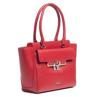 Moschino JC4017 0500 Red Satchel/Shoulder Bag - 12.5-10-5