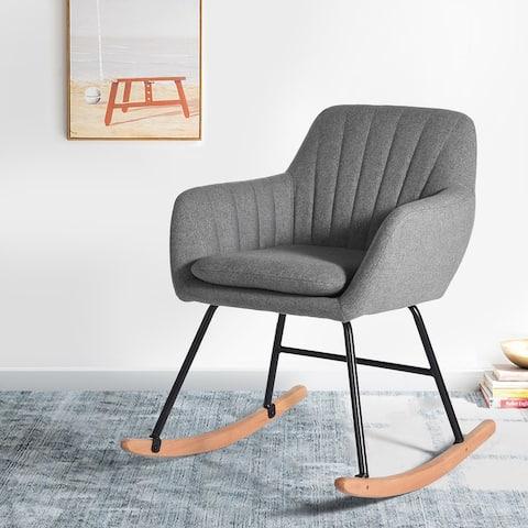 Carson Carrington Saleboda Contemporary Rocking Chair