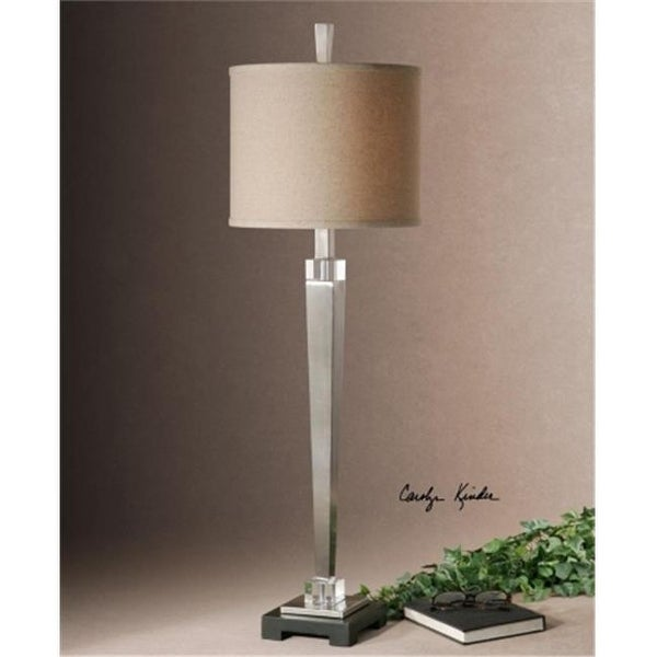 uttermost buffet lamps modern uttermost 295811 terme brushed nickel buffet lamp free shipping
