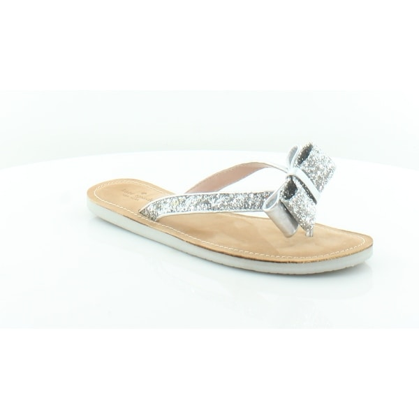 17491b550fc4 Shop Kate Spade Icarda Women s Sandals Silver - 9 - Free Shipping ...