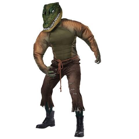 Men's Later Gator Costume - Green