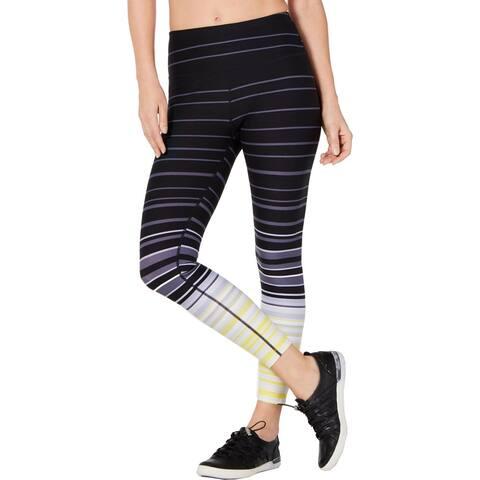 Calvin Klein Performance Womens Athletic Leggings High Rise Fitness