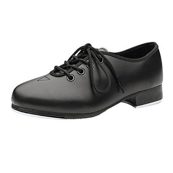 Bloch Unisex-Kids Dance Now Student Jazz Tap Shoe, Black, 1M