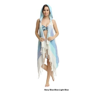 Eshma Mardini Swimwear Bikini Hooded Cover-Up Beach Dress - Hoodie